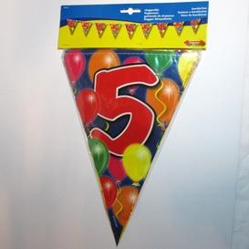 Vlaggenlijn 5 jaar