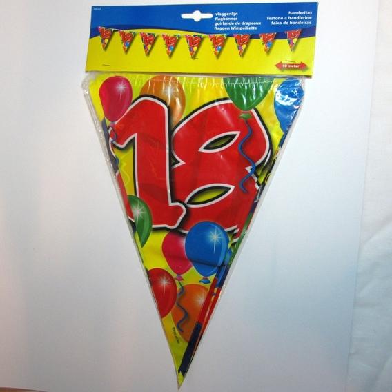 Vlaggenlijn 18 jaar
