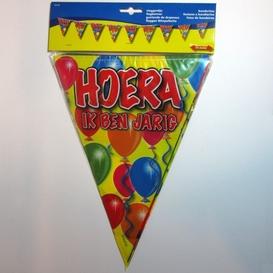 Vlaggenlijn Hoera, ik ben jarig