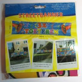 Streetbanner 3x toeteren