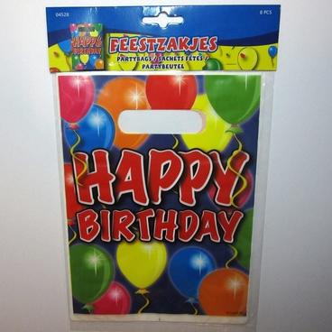 Feestzakjes Happy Birthday