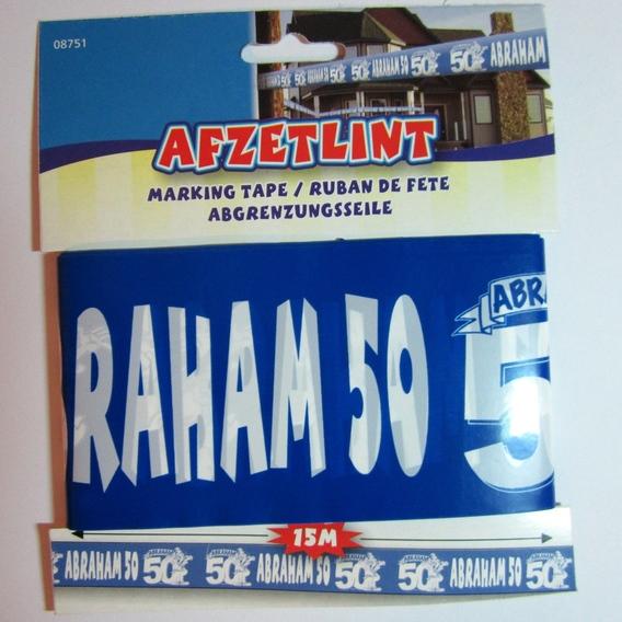 Afzetlint Abraham 50 jaar