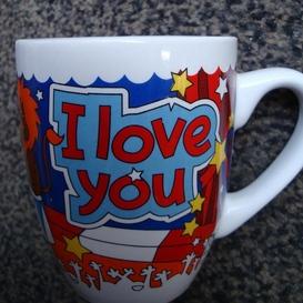 "Mok I love you ""leeuw"""