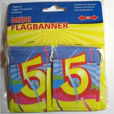 Minivlaglijn 5 jaar