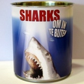 Blik Sharks om in te bijten