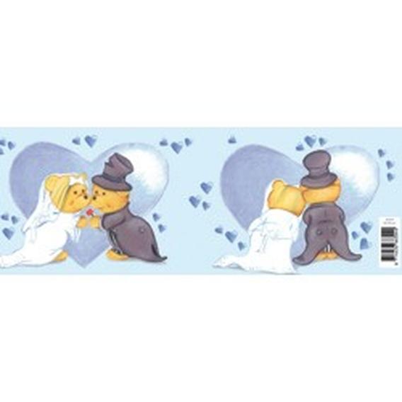 Blik knuffelpaar