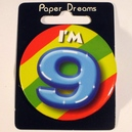 Button I'm 9