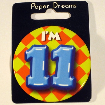 Button I'm 11