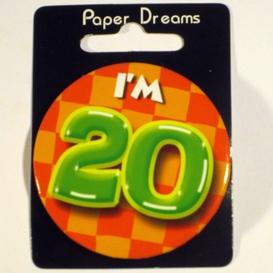 Button I'm 20