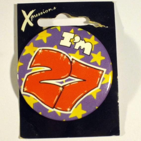 Button I'm 27 Xpress