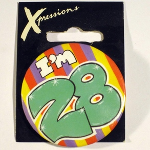 Button I'm 28 Xpress
