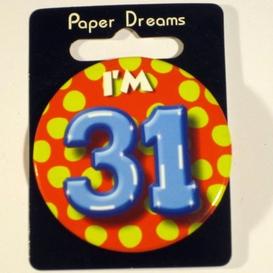 Button I'm 31