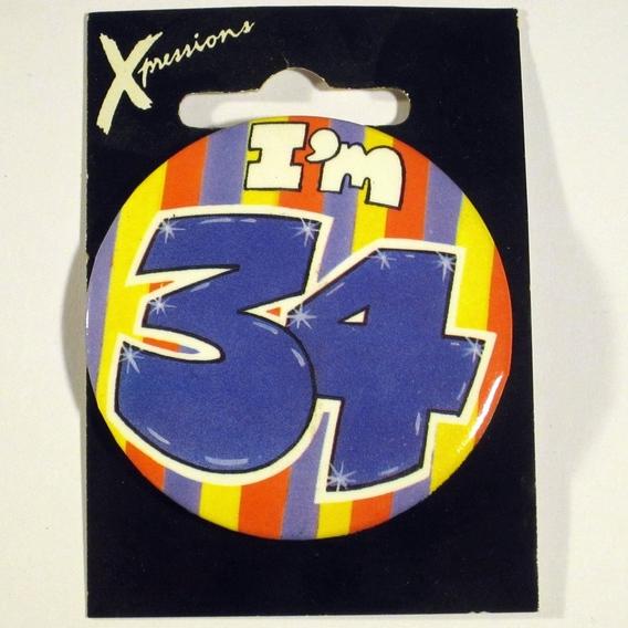 Button I'm 34 Xpress