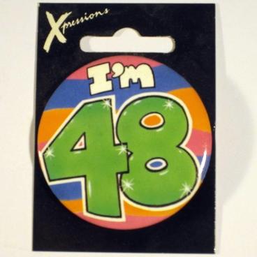 Button I'm 48 Xpress