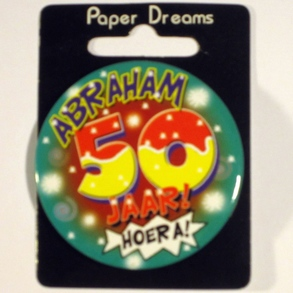 Button 50 Abraham