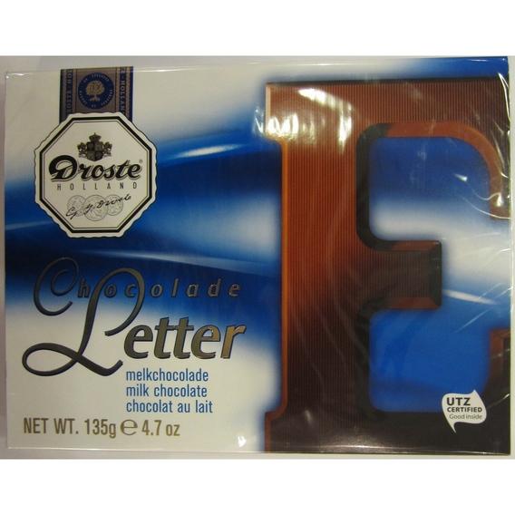 Droste letter melk 135 gram E