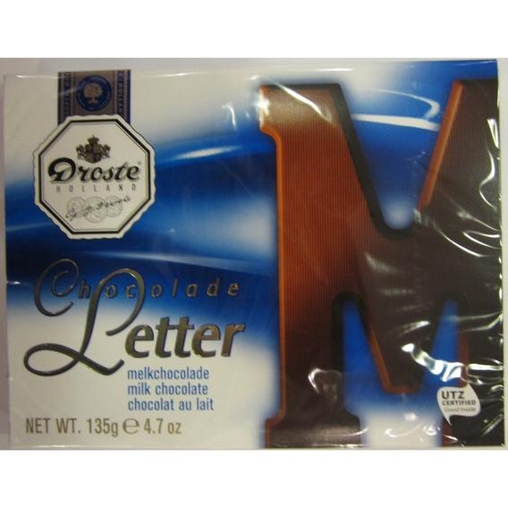 Droste letter melk 135 gram M