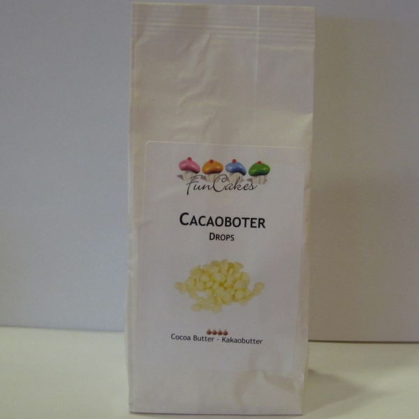 Cacaoboter drops