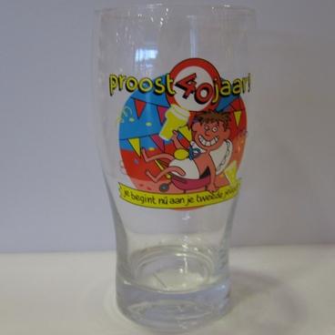 Drinkglas 40 jaar