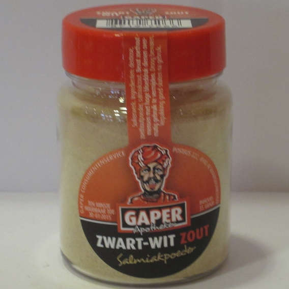 Gaper zwart-wit Zout 35 gram