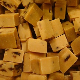 Rumrozijnen caramels