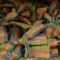Mini rainbowmatjes kilo