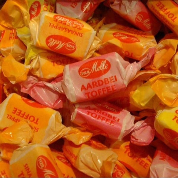 Fruit toffees
