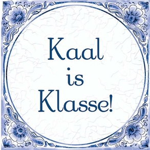 Tegel Kaal is klasse