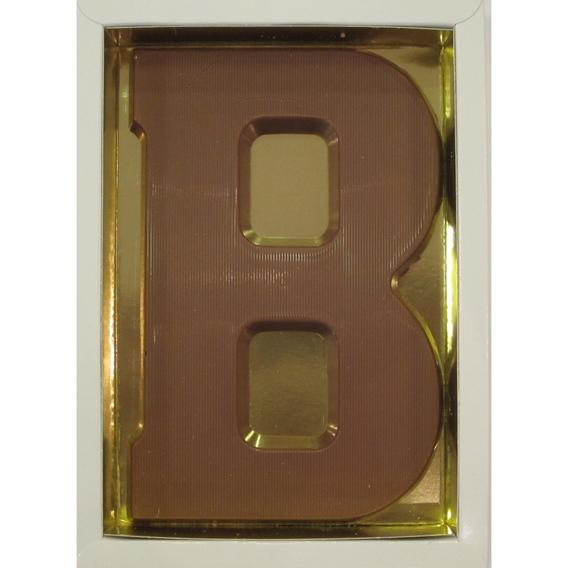 Chocoladeletter B melk 90 gram doos