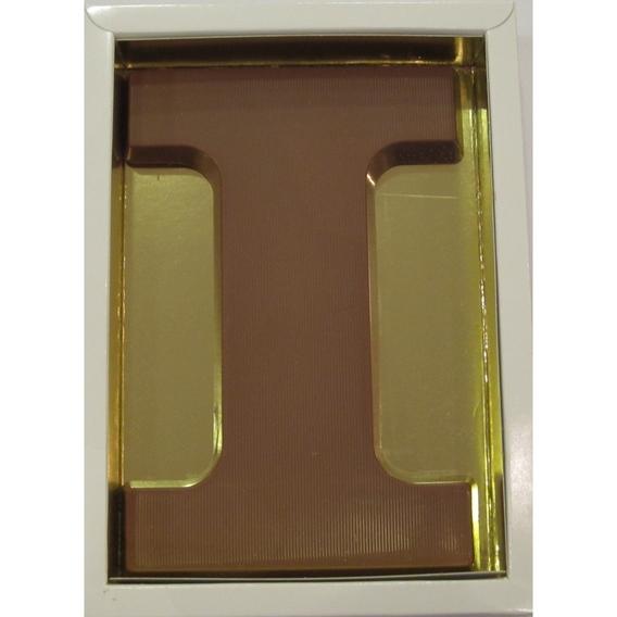 Chocoladeletter I melk 90 gram doos