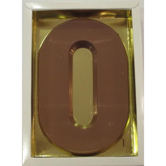 Chocoladeletter O melk 90 gram doos