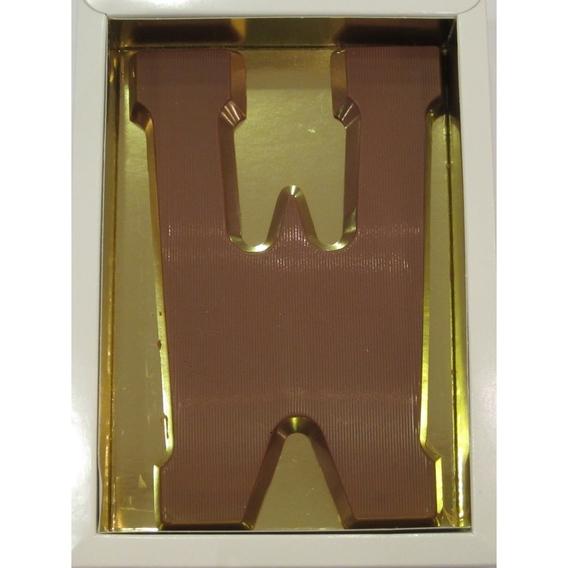 Chocoladeletter W melk 90 gram doos