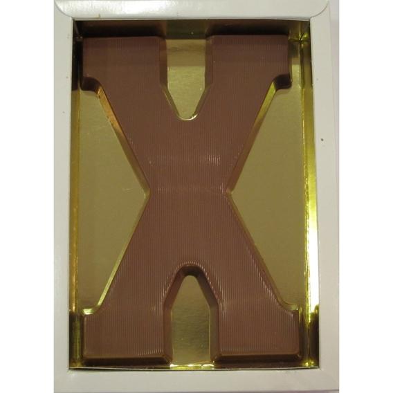 Chocoletter X melk 200 gram