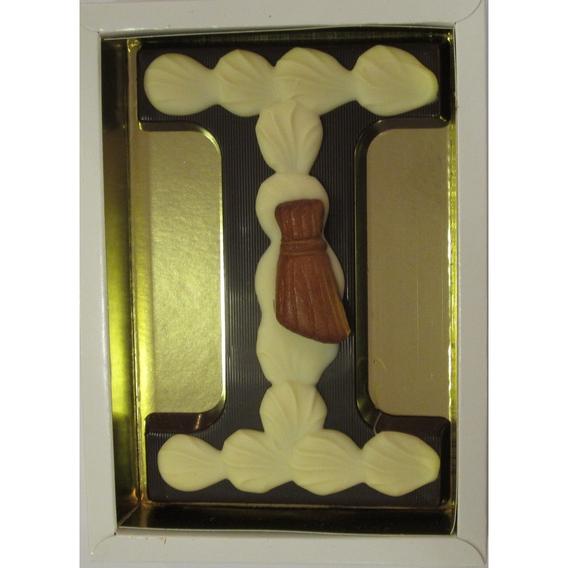 Puurchocolade letter I deco 220 gram