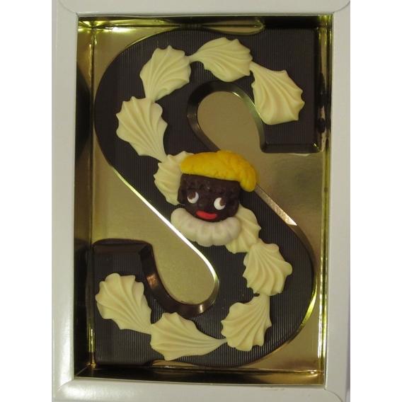 Puurchocolade letter S deco 220 gram