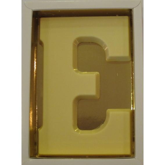 Chocoletter E wit 200 gram