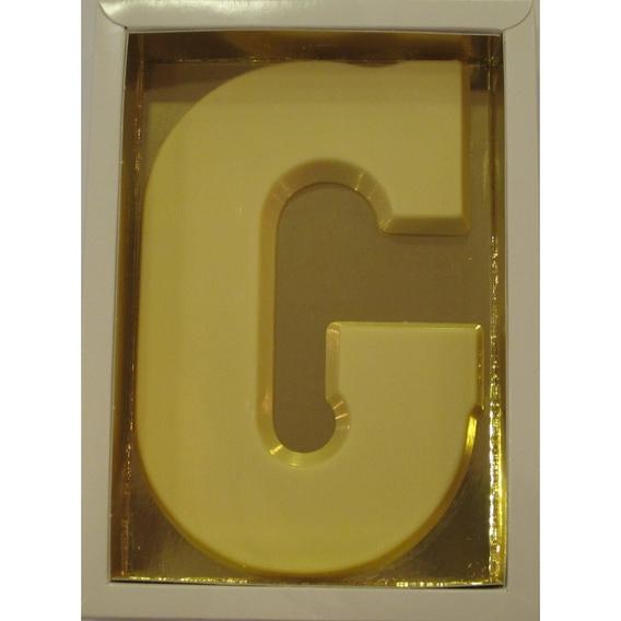Chocoletter G wit 200 gram