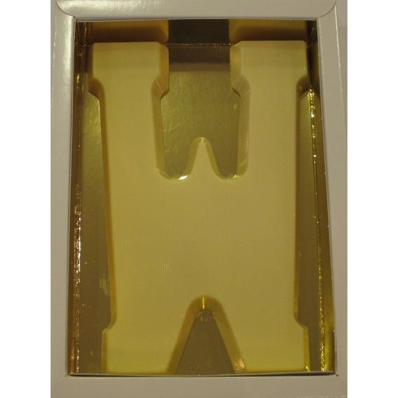 Chocoletter W wit 200 gram
