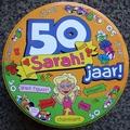 Snoepblik 50 jaar Sarah
