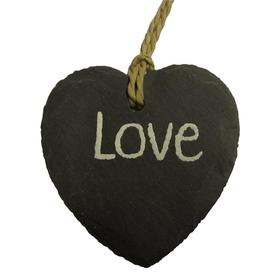 Natuurstenen hartje Love