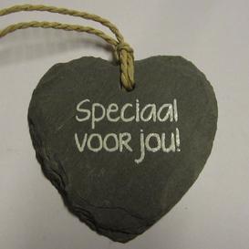 Natuurstenen hartje Speciaal voor jou