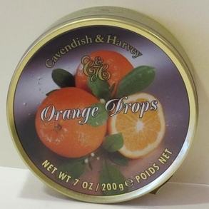 C&H Fruity Orange Drops