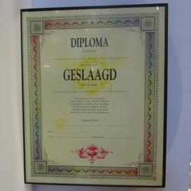 Diploma geslaagd