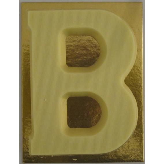 Chocoladeletter wit 90 gram B