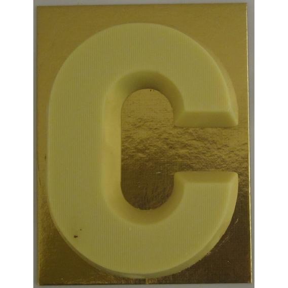 Chocoladeletter wit 90 gram C