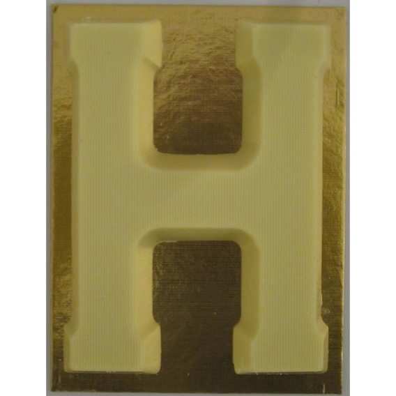 Chocoladeletter wit 90 gram H