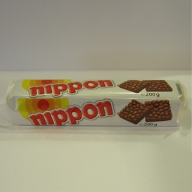 Nippon choco pofrijst koekjes
