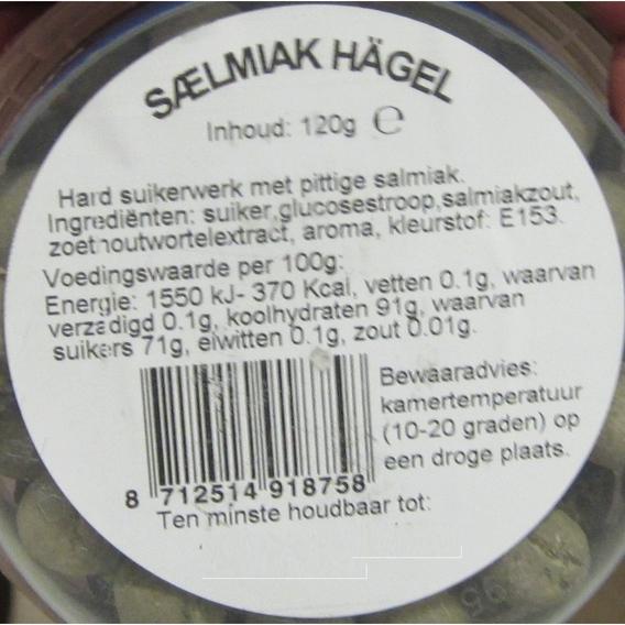 Kindly's Salmiak Hagel