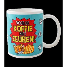 Mok Voor de koffie niet zeuren