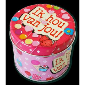 Snoepbusje Ik hou van jou!